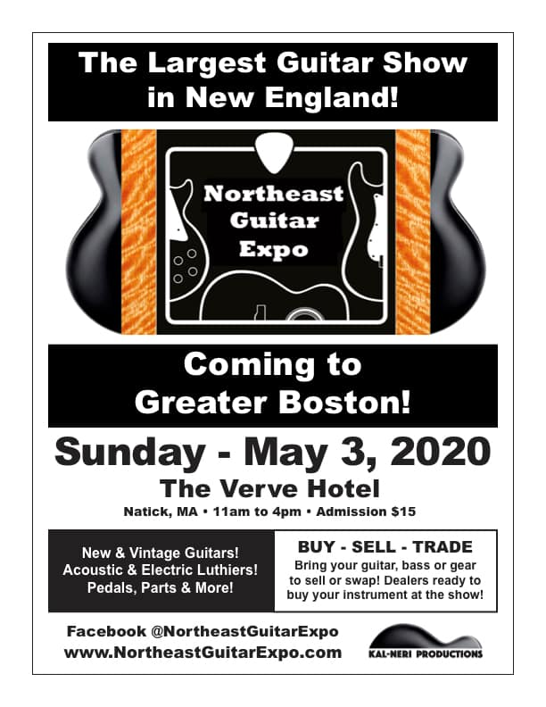 Ad for Northeast Guitar Expo