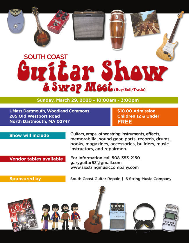 Ad for South Coast Guitar Show
